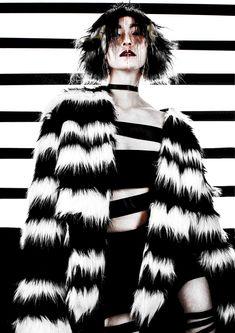 2019 My Works Fur Coat, Tie Dye, Creative, Jackets, Tops, Women, Style, Fashion, Down Jackets