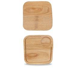 Art de Cuisine Wooden Boards  Small Square Oak Board