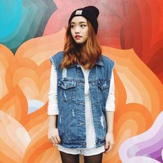 Jenn Im // Love her sick sense of style! This girl can wear anything and pull it off x