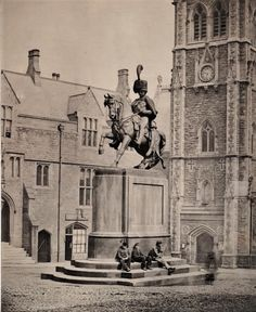 Durham City, St Johns College, Italian Sculptors, Equestrian Statue, North East England, Londonderry, London Photos, Historical Pictures, Westminster
