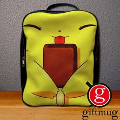 Pikachu Ice Cream Backpack for Student