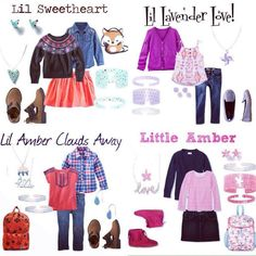 Color By Amber's super cute kid's line.