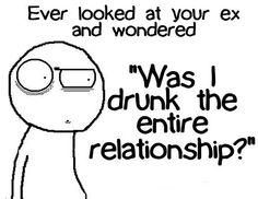 Was I drunk??