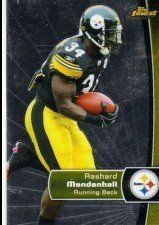 2012 Finest #13 Rashard Mendenhall by Finest. $1.07. 2012 Topps Co. trading card in near mint/mint condition, authenticated by Seller