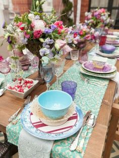 Mid Summer's Dream Tablescape