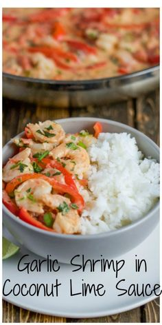 A slightly spicy, shrimp stew that is cooked in a coconut broth. It is a great weeknight meal as it comes together so fast!