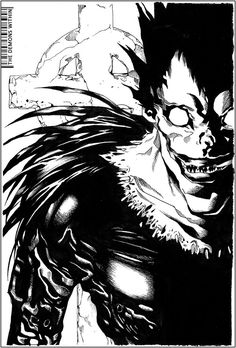 Ryuk Shinigami from Death note - don't really have a good board for this so it's going here