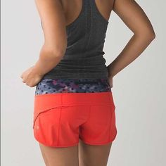 BRAND NEW LULU SHORTS Brand new with tags on• size 4• absolutely adorable and so so comfy but sadly they don't fit me and it's too late to return them• will trade for same style in different colors in size 6 lululemon athletica Shorts