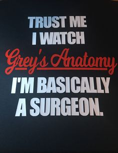 Trust Me I Watch Grey's Anatomy Custom Hoodie. Customize to your favorite colors. Click visit to visit our website and purchase.