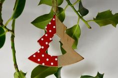 Tree Shaped Wooden Decoration with Loop x 1 Piece! Xoxo  http://theribbonroom.co.uk/88023-tree-shaped-wooden-decoration.html