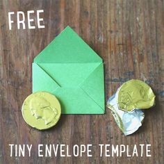 Free Tiny Envelope Template Download