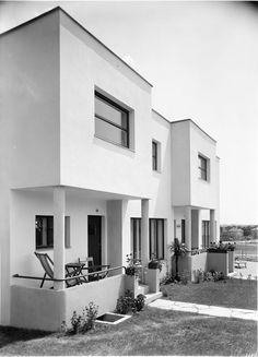 Josef Hoffmann, Werkbundsiedlung, House 8, 9, 10 and 11