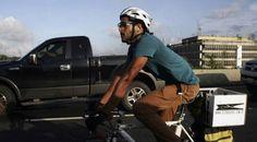 """""""Encontré el proyecto de mi vida manejando bicicleta"""""""