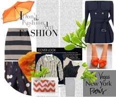"""""""Punch of Tangerine"""" by mysspriss on Polyvore"""