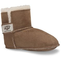 UGG® Erin Infant Boots - Chestnut - XS (0-6 Months) ($56) ❤ liked on Polyvore featuring brown
