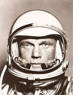 Space: John Glenn ready for his Friendship 7