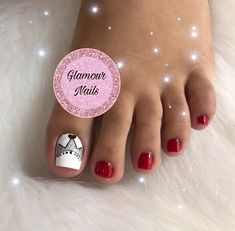 Manicure, Nail Art, Glamour, Sexy, Finger Nails, Pretty Toe Nails, Cute Nails, Toe Nail Art, Feet Nails