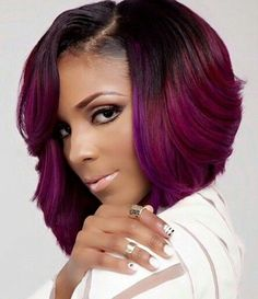 Layered Cut - Bob Hairstyles For Black Women