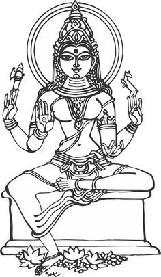 drawing outlines of gods - Google Search
