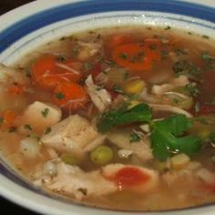Turkey Carcass Soup - A great way to not waste a single bite of turkey.