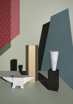 CONCEPT IMAGE + STYLING #ELISABETTABONGIORNI // PROJECT DEVELOPED FOR #TERZOPIANO #SETDESIGN MATERIALS AND SHAPES