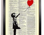 banksy on dictionary page