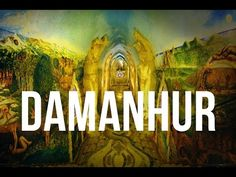 There's A Hidden Network Of Psychedelic Temples Under The Alps near Turin, Italy.  Damanhur ecovillage.