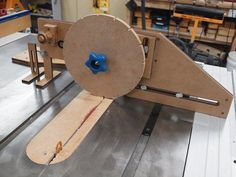 Wheel kerfing jig for T&J models