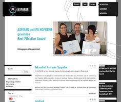www.hofherr.com Best Practice, Website, Confidence, Career
