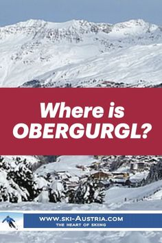 Obergurgl is the highest village in Austria and, as you would expect, boasts an excellent ski area. Discover more about winter sports and the resort, travel details and accommodation options from our resort guide. Ski Austria, Ski Equipment, Ski Slopes, Ski Holidays, Ski Resorts, Winter Sports, Skiing, Destinations, Europe