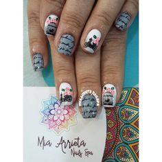 """14 Me gusta, 1 comentarios - PELUQUERIA Y NAIL SPA (@miaarrieta_nailspa) en Instagram: """"#clientafeliz #nailspa #Nailart #manicureconvencional"""""""