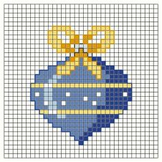 Four bauble charts Cross Stitch Christmas Cards, Xmas Cross Stitch, Cross Stitch Cards, Counted Cross Stitch Patterns, Cross Stitch Designs, Cross Stitching, Cross Stitch Embroidery, Cross Patterns, Loom Patterns