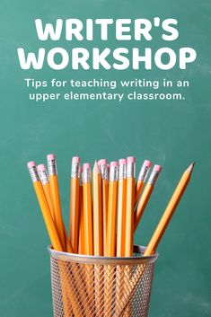 In this introduction to writer's workshop, you'll learn all about the components of writer's workshop as well as get tips and suggestions for how you can make it work in your upper elementary classroom. Launching Writers Workshop, Writer Workshop, Elementary Teacher, Upper Elementary, Teaching Writing, Teaching Ideas, Make It Work, Interactive Notebooks, Classroom