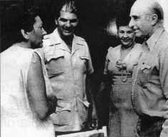 El almirante que velaba por el Che
