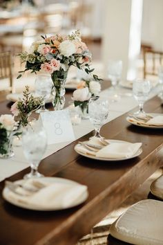 Sophisticated and clean Ivory and glass with hints of gold   Cedarwood Weddings