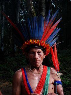Suriname. Trio Amerindian.
