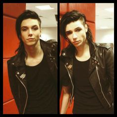 Read Chapter 1 from the story The New Girl (Andy Biersack x Reader) by thatonebandboy (I'm One Weird Kid) with 4,404 re...