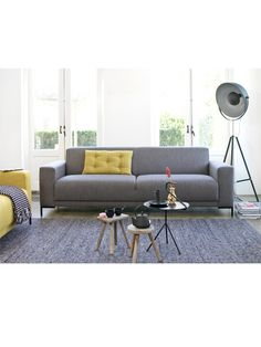 I'm really feeling all this grey and yellow I'm seeing in interiors