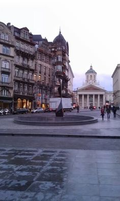 Brussels downtown, Belgium.