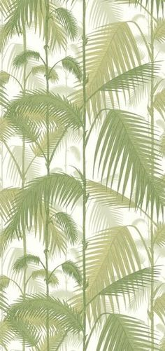 Behang Palm Jungle Licht Groen: Cole & Son, gezien in More Than Classic - Luxury By Nature
