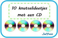 ©JufYvon: 10 knutselideetjes met een CD