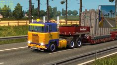 Sim-Trucking (new Heavy load and trailer)