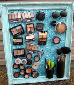 DIY: Je make-up opbergen met magneetjes: brilliant!