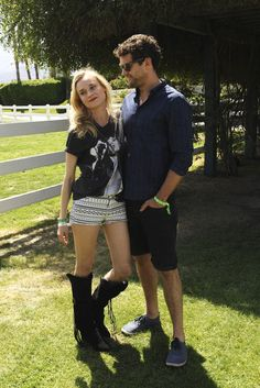 Diane Kruger and Joshua Jackson - Coachella 2013