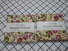 Moda Charm Pack  Decadent Victorian  by Sandy by MySuiteRetreat