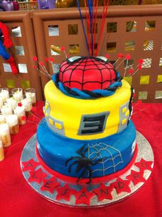 Spiderman Party  https://www.facebook.com/fiestasinfantilesmadrid