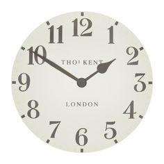 Thomas Kent Arabic Double Cream Wall Clock, 50cm – Beaumonde ®