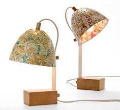 Luminária e reciclagem