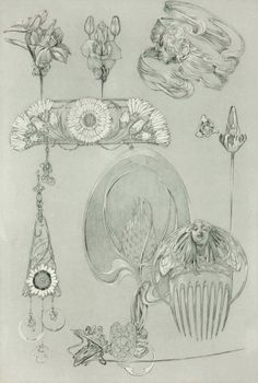Study Alphonse Mucha