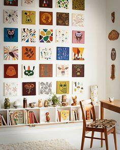 New diy art display interior design Ideas Scandinavian Style, Wall Design, House Design, Design Art, Design Ideas, Wall Art Designs, Interior Decorating, Interior Design, New Wall